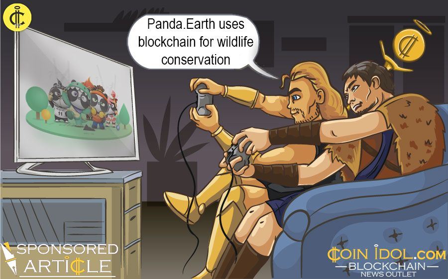 Panda.Earth uses blockchain
