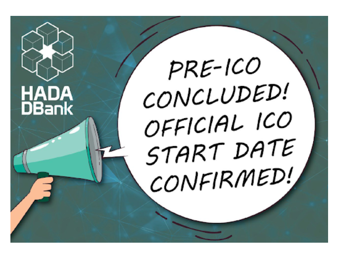 Hada DBank announces presale