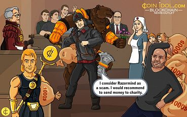 "Ivan Tikhonov: ""I consider Razormind as a scam and recommend to send money to charity"""