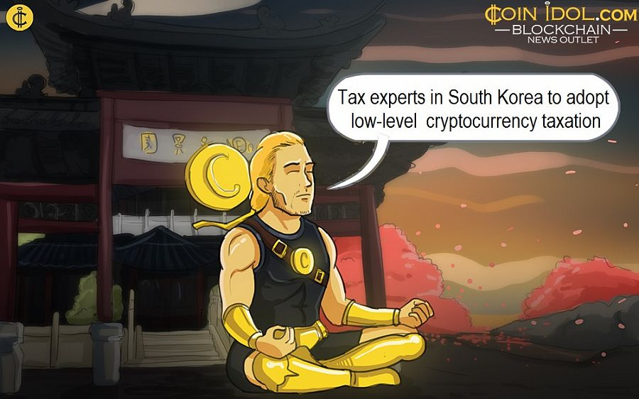 Tax experts in South Korea to adopt low-level  cryptocurrency taxation