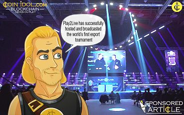 Blockchain-based Streaming Platform Play2Live Successfully Broadcasted World's First Tournament With Crypto Prize Pool