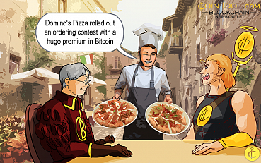 Domino's Pizza to Reward its French Customers €100,000 in Bitcoin