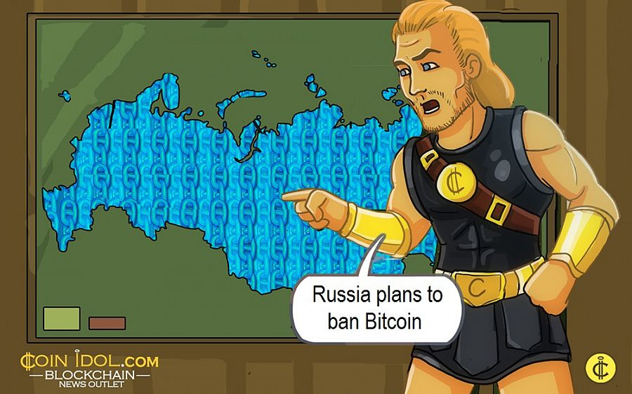 Russia plans to ban Bitcoin