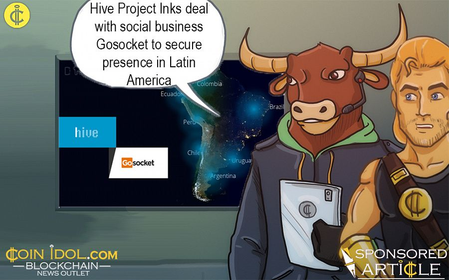Hive partners with Godsocket