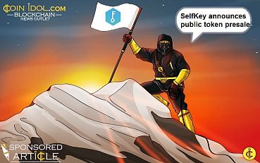 Self-Sovereign Identity Leader, SelfKey, Announces Public Token Pre-Sale