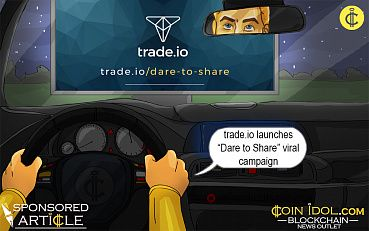 """Dare to Share"" Viral Campaign to Promote Awareness of Next-Gen Trading Platform trade.io's Upcoming Exchange"