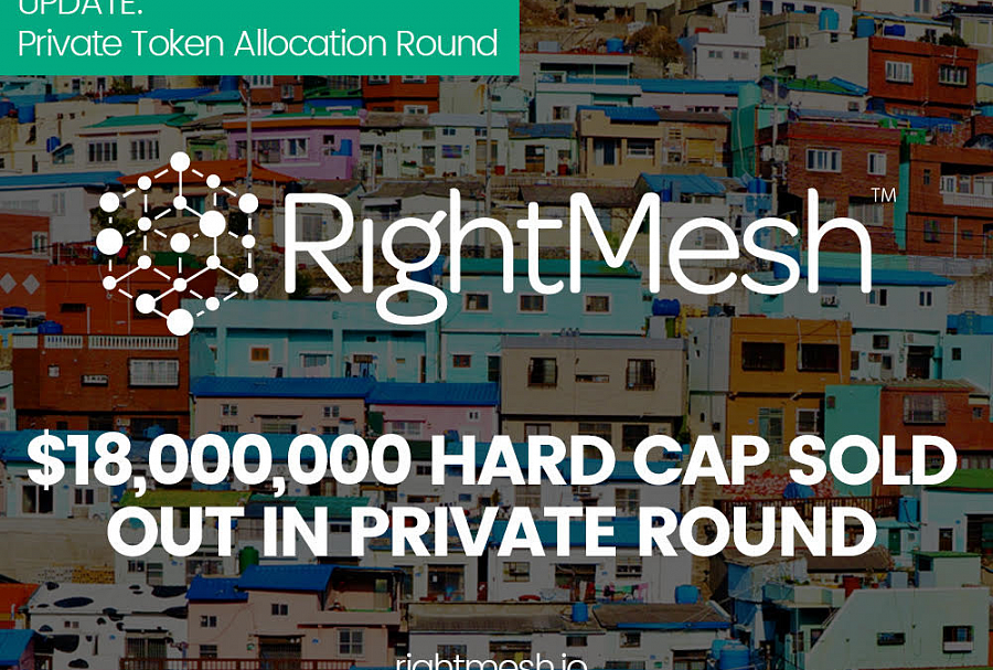 RightMesh completes token allocation round