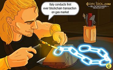 First Ever Blockchain-powered Transaction on the Gas Market Registered in Italy