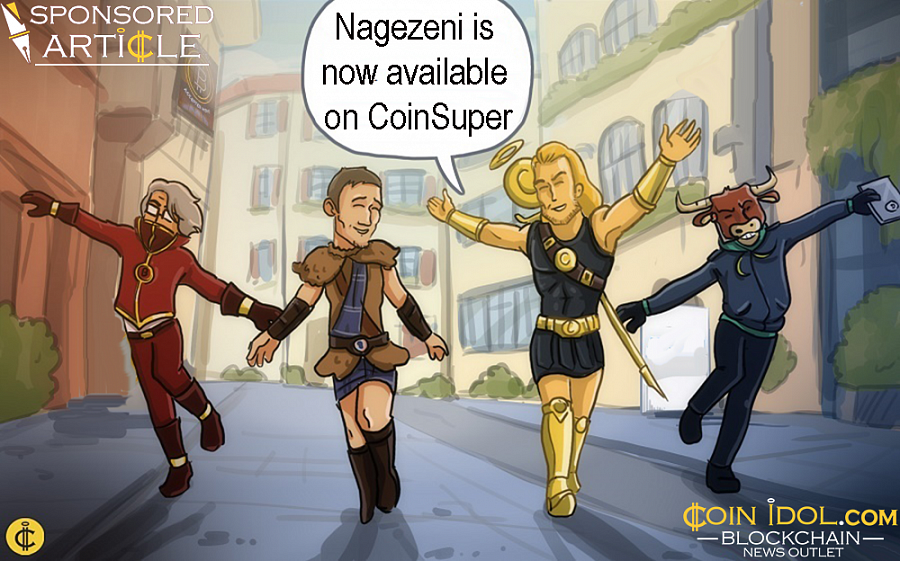 Starting from November 12, users will be able to acquire NZE tokens on CoinSuper, one of the largest platforms in Asia.