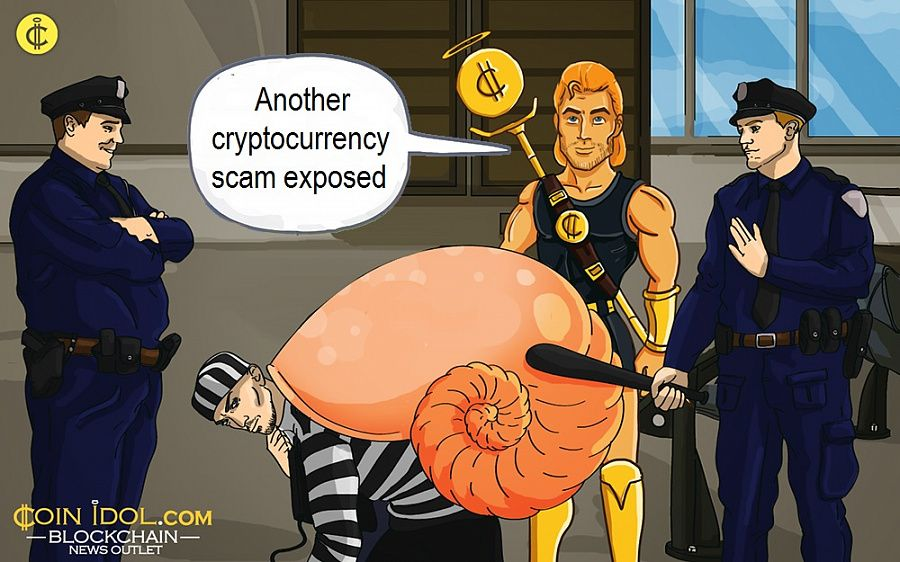 Another cryptocurrency scam exposed