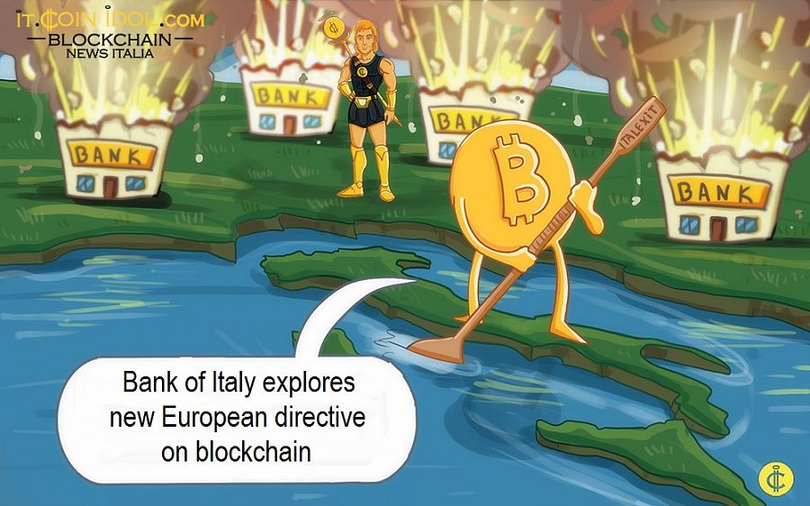 Bank of Italy explores new European directive on blockchain