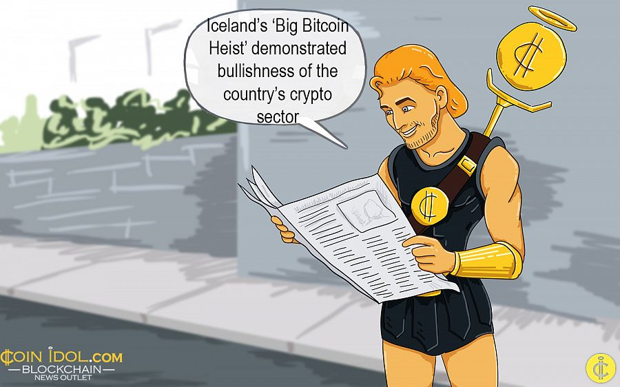 Iceland's 'big Bitcoin heist' demonstrated bullishness of the country's crypto sector