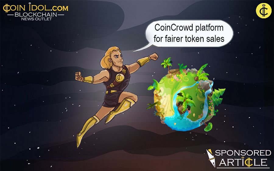 CoinCrowd for token sales