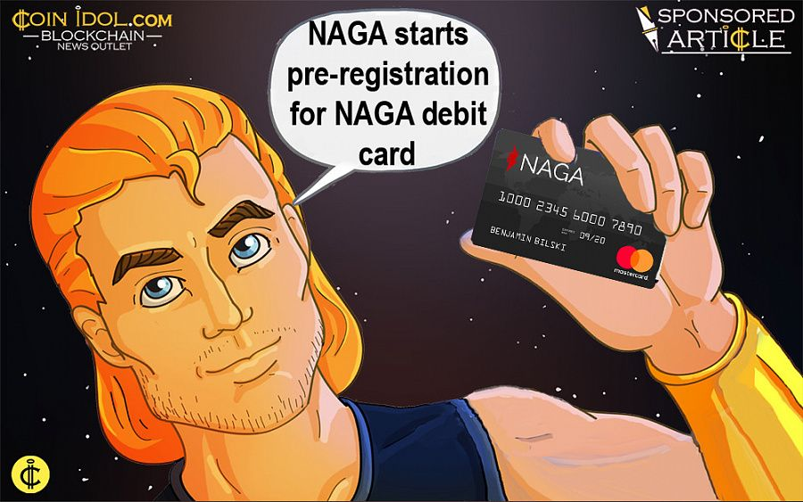 NAGA starts registration for NAGA debit card